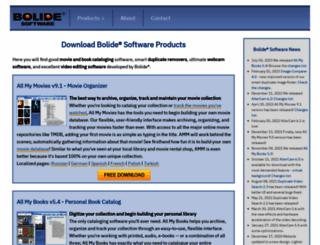 bolidesoft.com screenshot