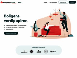 boligmappa.no screenshot