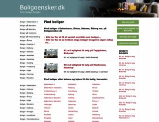 boligoensker.dk screenshot