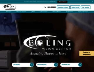 bolingvisioncenter.com screenshot