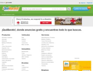 bolivar.quebarato.com.ec screenshot