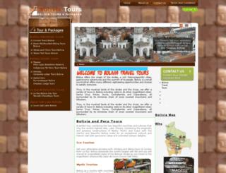 bolivia-traveltours.com screenshot