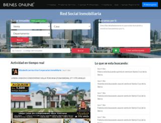 bolivia.bienesonline.com screenshot