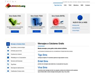 boliviasms.org screenshot