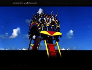 bolliger-mabillard.com screenshot