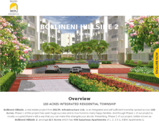 bollinenihillside.com screenshot