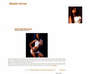 bollywood-masala-actress.blogspot.co.uk screenshot