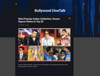 bollywoodcinetalk.com screenshot