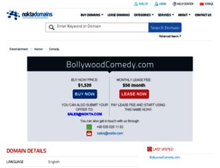 bollywoodcomedy.com screenshot