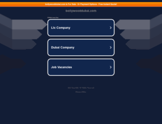 bollywooddubai.com screenshot