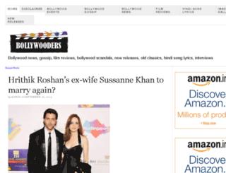bollywooders.com screenshot