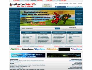 bollywoodhunts.com screenshot