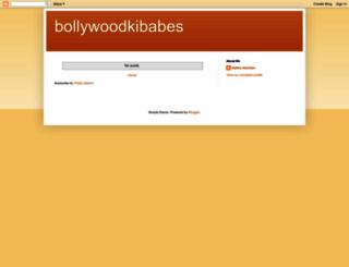 bollywoodkibabes.blogspot.com screenshot