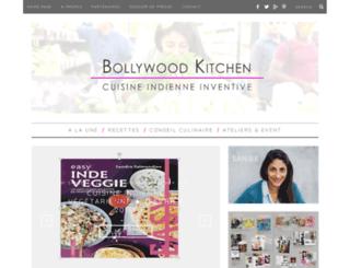 bollywoodkitchen.com screenshot
