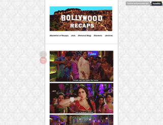 bollywoodrecaps.tumblr.com screenshot
