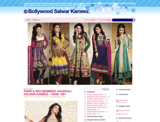 bollywoodsalwarkameez.com screenshot