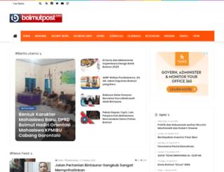 bolmutpost.com screenshot