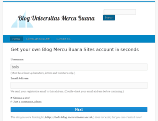 bolo.blog.mercubuana.ac.id screenshot
