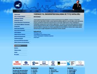 bologna.yyu.edu.tr screenshot