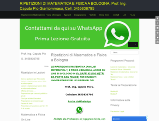 bolognaripetizioni.it screenshot
