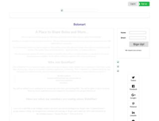 bolomart.smartmember.com screenshot
