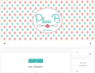 bolosplanob.com.br screenshot
