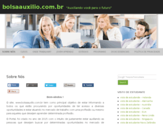 bolsaauxilio.com.br screenshot