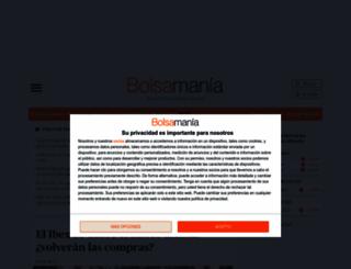 bolsamania.com screenshot