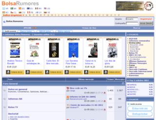 bolsarumores.com screenshot