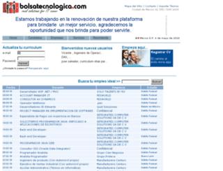 bolsatecnologica.com.mx screenshot