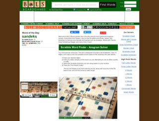 bolsboardgames.com screenshot