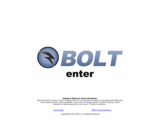 bolt.cd screenshot