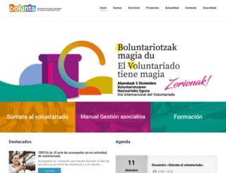 bolunta.org screenshot