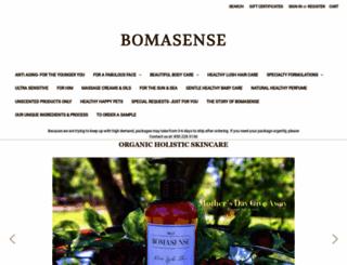 bomasense.com screenshot