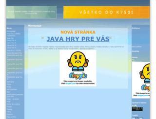 bomba.napady.net screenshot