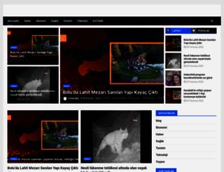 bombahaber.net screenshot
