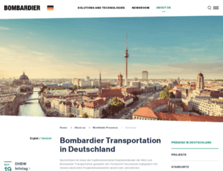 bombardier.de screenshot