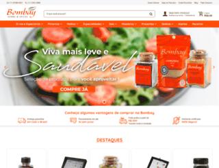 bombayherbsspices.com.br screenshot