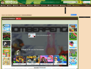 bomberman.jeuxdelajungle.fr screenshot