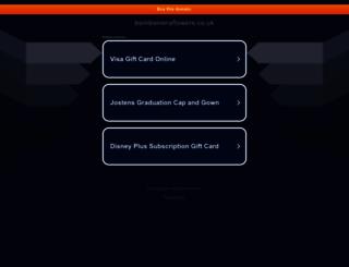 bombonieraflowers.co.uk screenshot