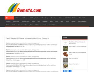 bomets.com screenshot