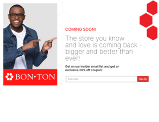 bon-ton.com screenshot