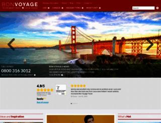 bon-voyage.co.uk screenshot