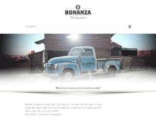 bonanza-agency.be screenshot