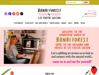 bonbiforest.com screenshot
