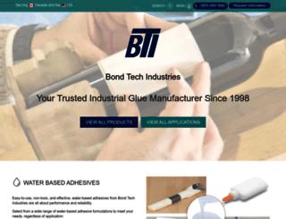 bond-tech-industries.com screenshot