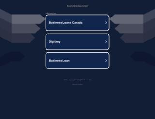 bondable.com screenshot