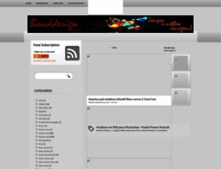 bonddesigns.blogspot.com.br screenshot