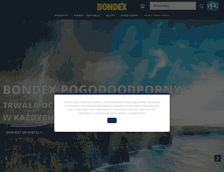 bondex.pl screenshot
