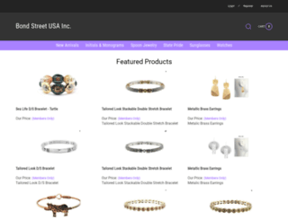 bondstreetonline.com screenshot
